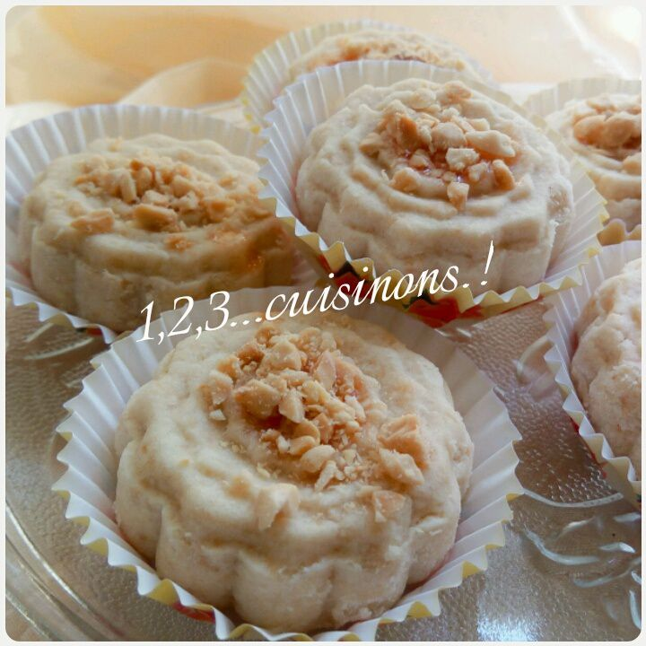 Ghribia   (Montécaos )aux cacahuètes