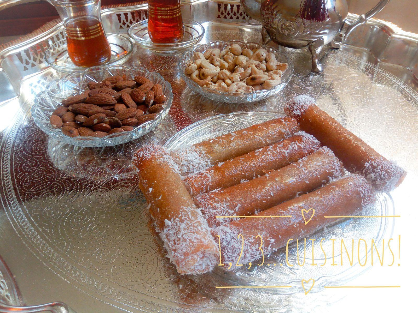 Cigares (Boureks ) aux cacahuètes