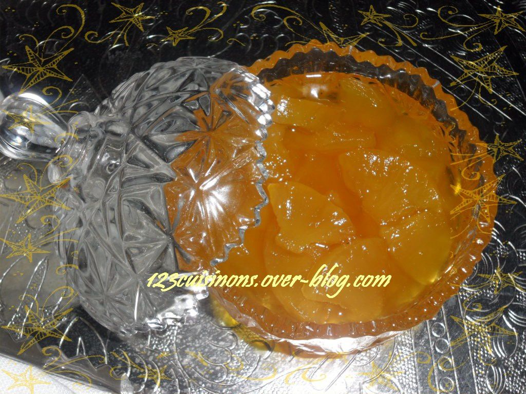 """✫¸.•°*""""˜˜""""*°•.✫Confiture d'Ananas✫¸.•°*""""˜˜""""*°•.✫"""