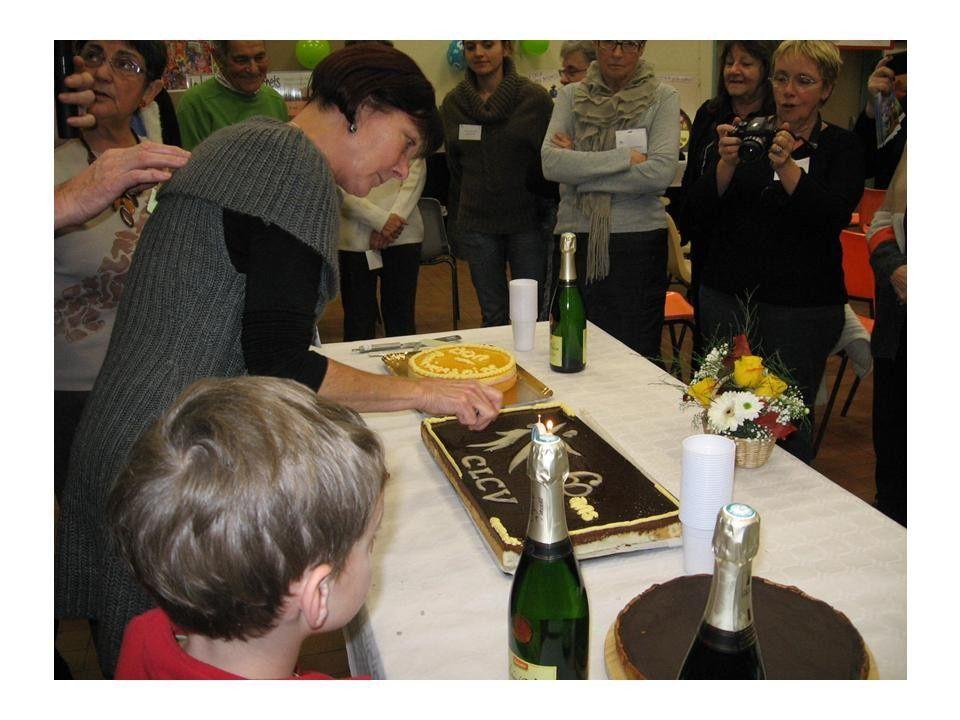 Le 1er décembre 2012 la CLCV Drôme fêtait le 60 ème anniversaire de l'association