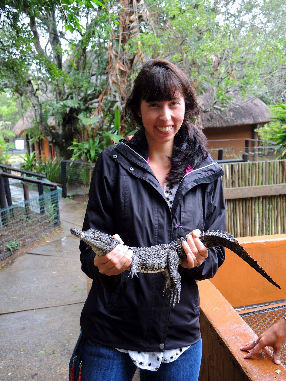 En Amazonie, ils ne mettaient pas d'élastique autour de la gueule pour qu'on le prenne dans les mains