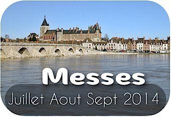 Messes 3e trimestre : Juillet - Aout - Septembre