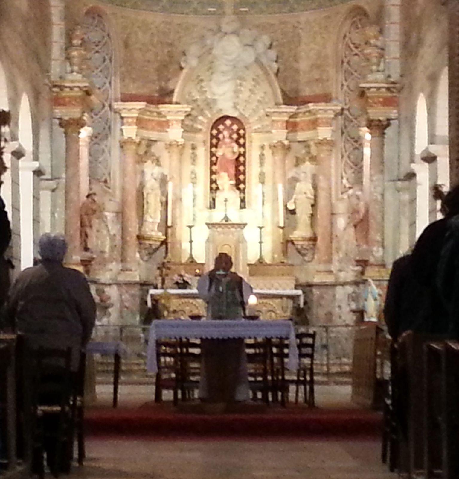 Messe de semaine un mardi sur deux à Saint-Gondon