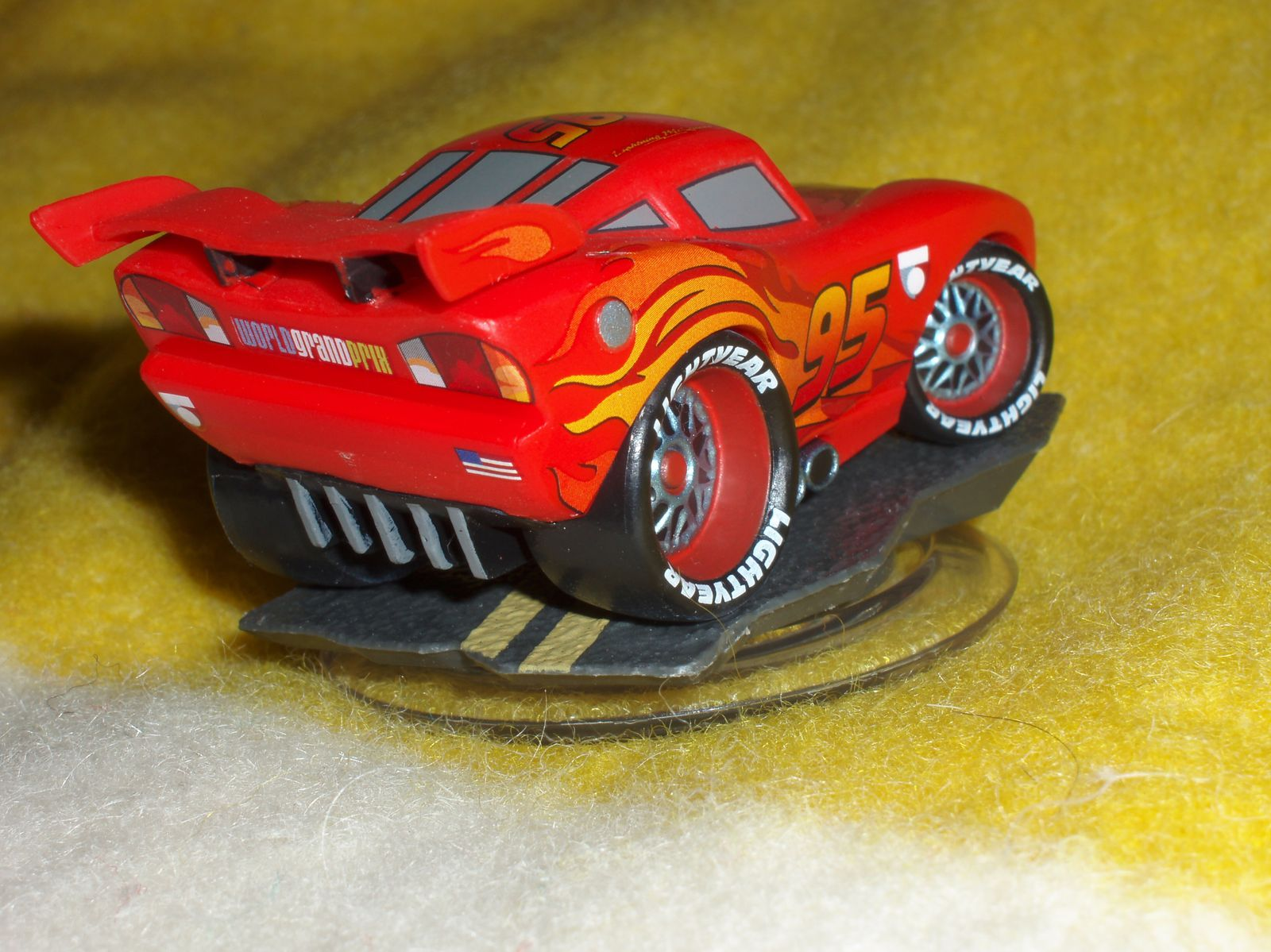Figurine Disney Infinity : Flash McQueen (Cars)
