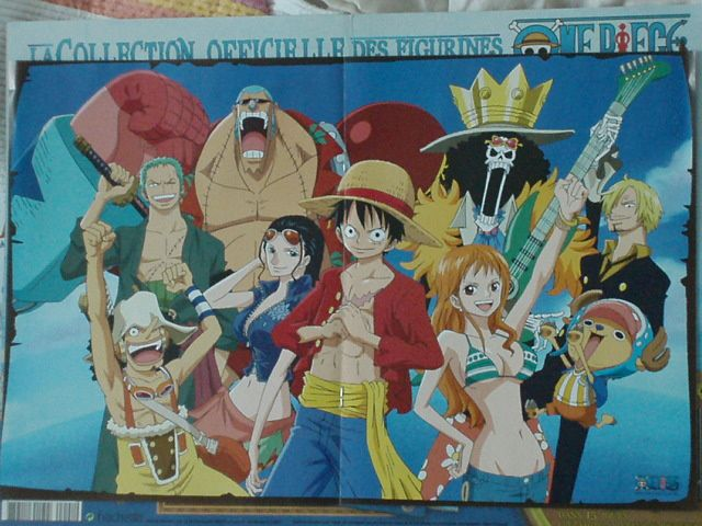 collection one piece chez le marchand de journaux le num ro 1 luffy. Black Bedroom Furniture Sets. Home Design Ideas