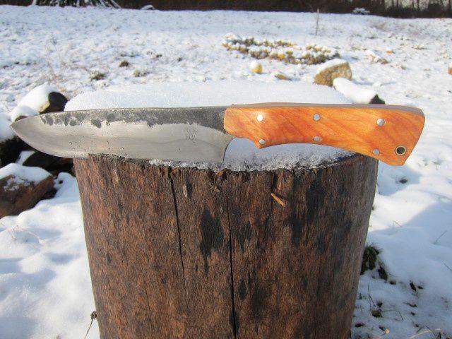 Couteau de Camp forgé : petite b ...