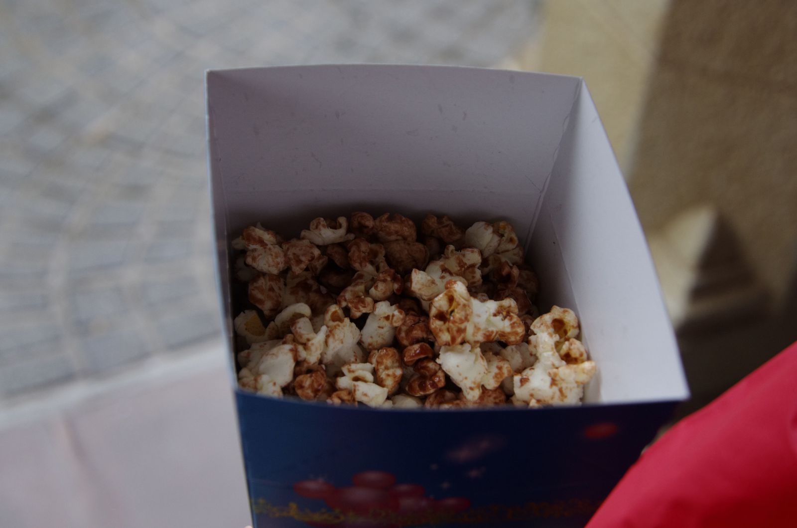 Attraction pop corn au chocolat