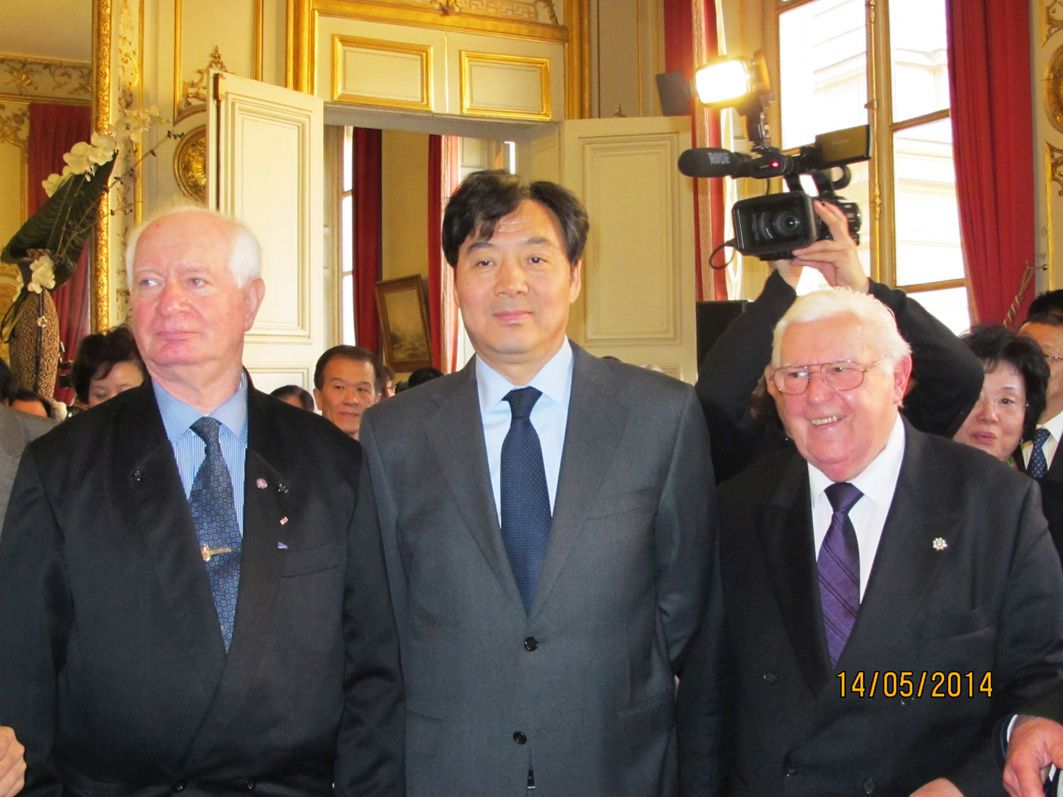 REMISE DISTINCTIONS AU SENAT LE 14 MAI 2014