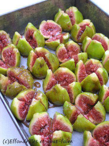 Figues rôties au miel et aux épices