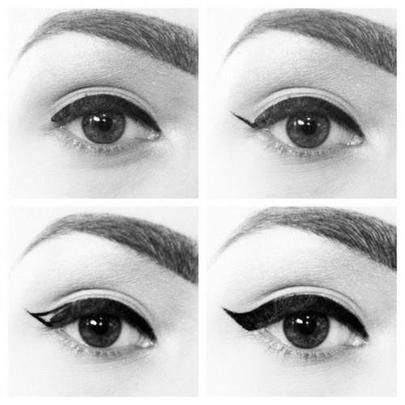 Comment faire un trait d'eyeliner ?!