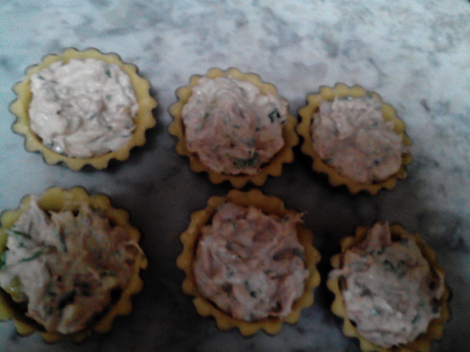 MINIS QUICHES THON-FROMAGE