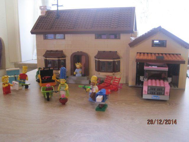 Lego Creator : Maisons des Simpsons