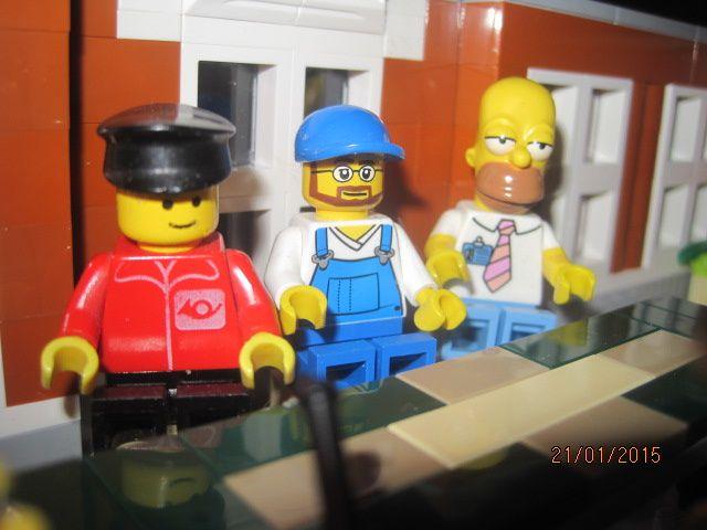 Lego : Réunion à la mairie