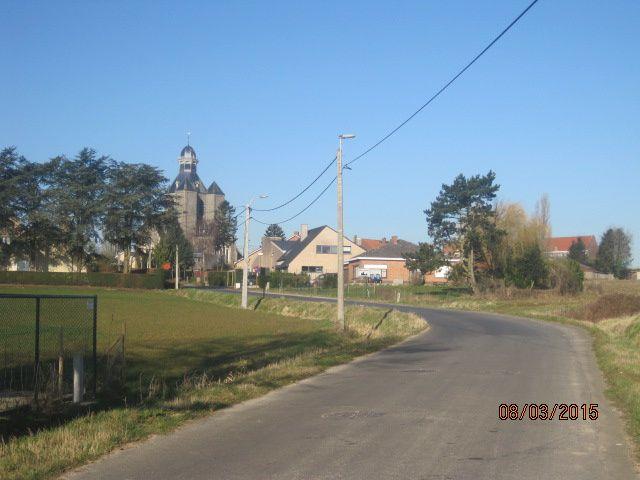 VTT : Comines-Mesen-Ploegsteert (Brevet Télévie) - Warneton - Comines : 50km le 08/03/15
