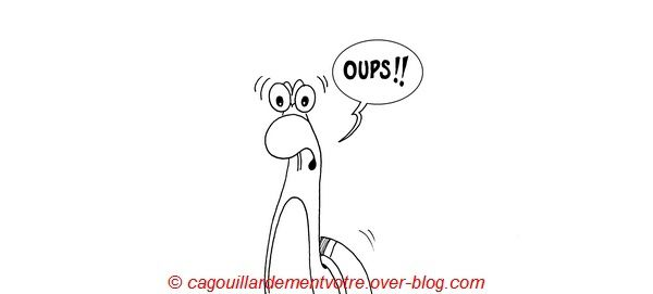 Oups! (semaine 40)