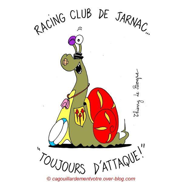 Après la pluie, vient le beau temps et le Racing Club de Jarnac.