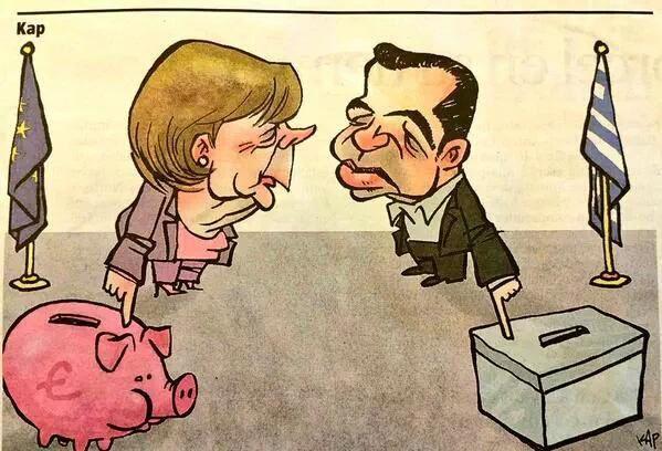 Le Peuple Grec dit non par 61% à l'austérité !