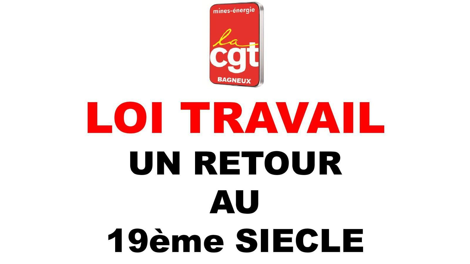 Présentation de la loi El Kromri (Mines Energie CGT Bagneux)