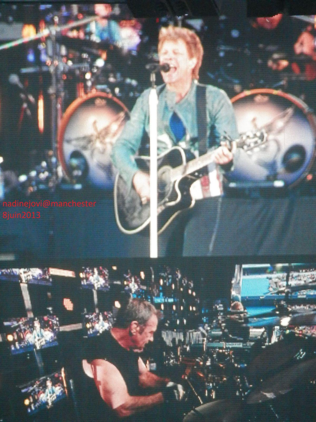 Album photos concert de Manchester 8 juin 2013 Ethiad Stadium