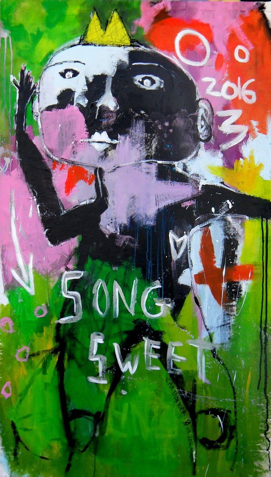 sweet song .90x150 cm
