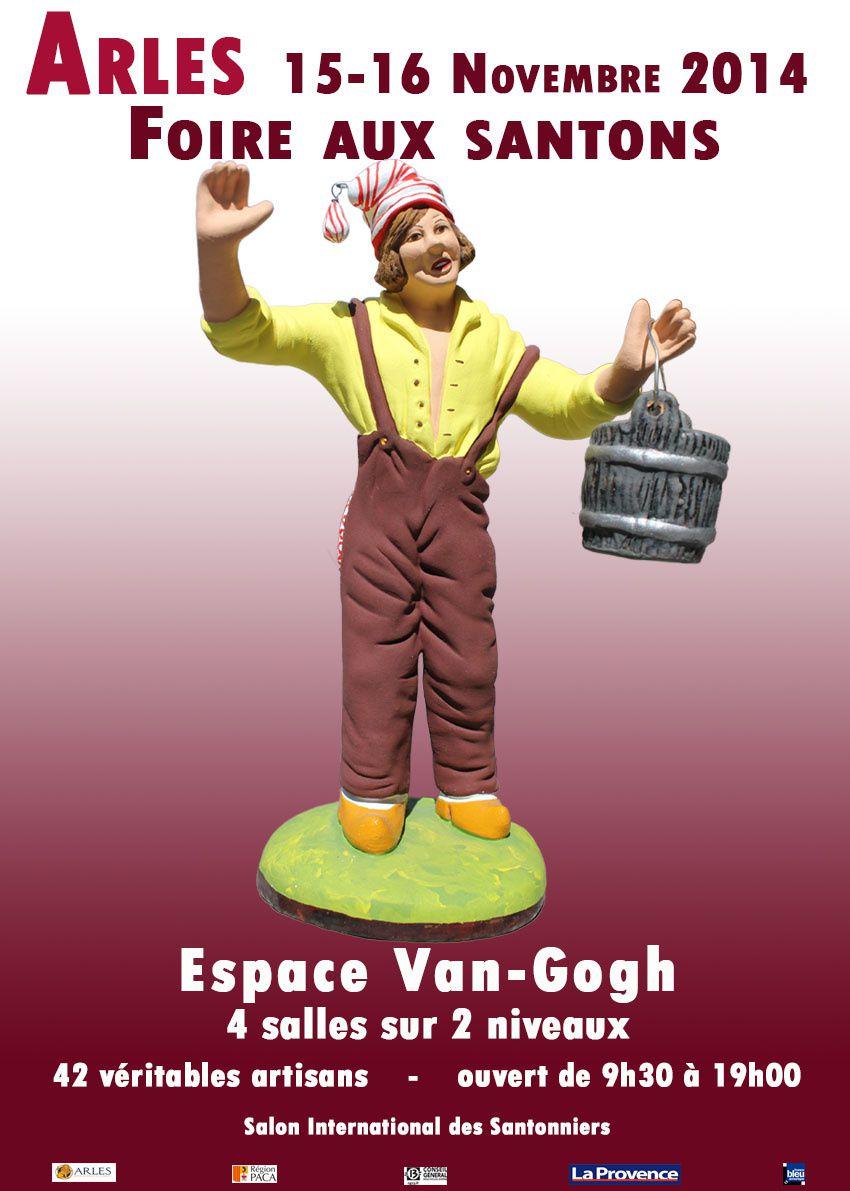 Foire aux Santons Arles Espace Van Gogh 15 et 16 novembre