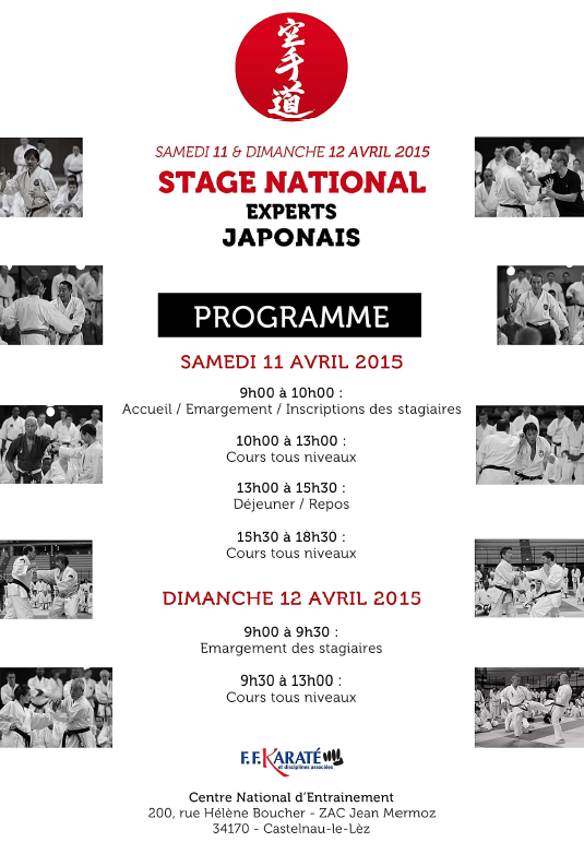 Stage National Experts Japonais