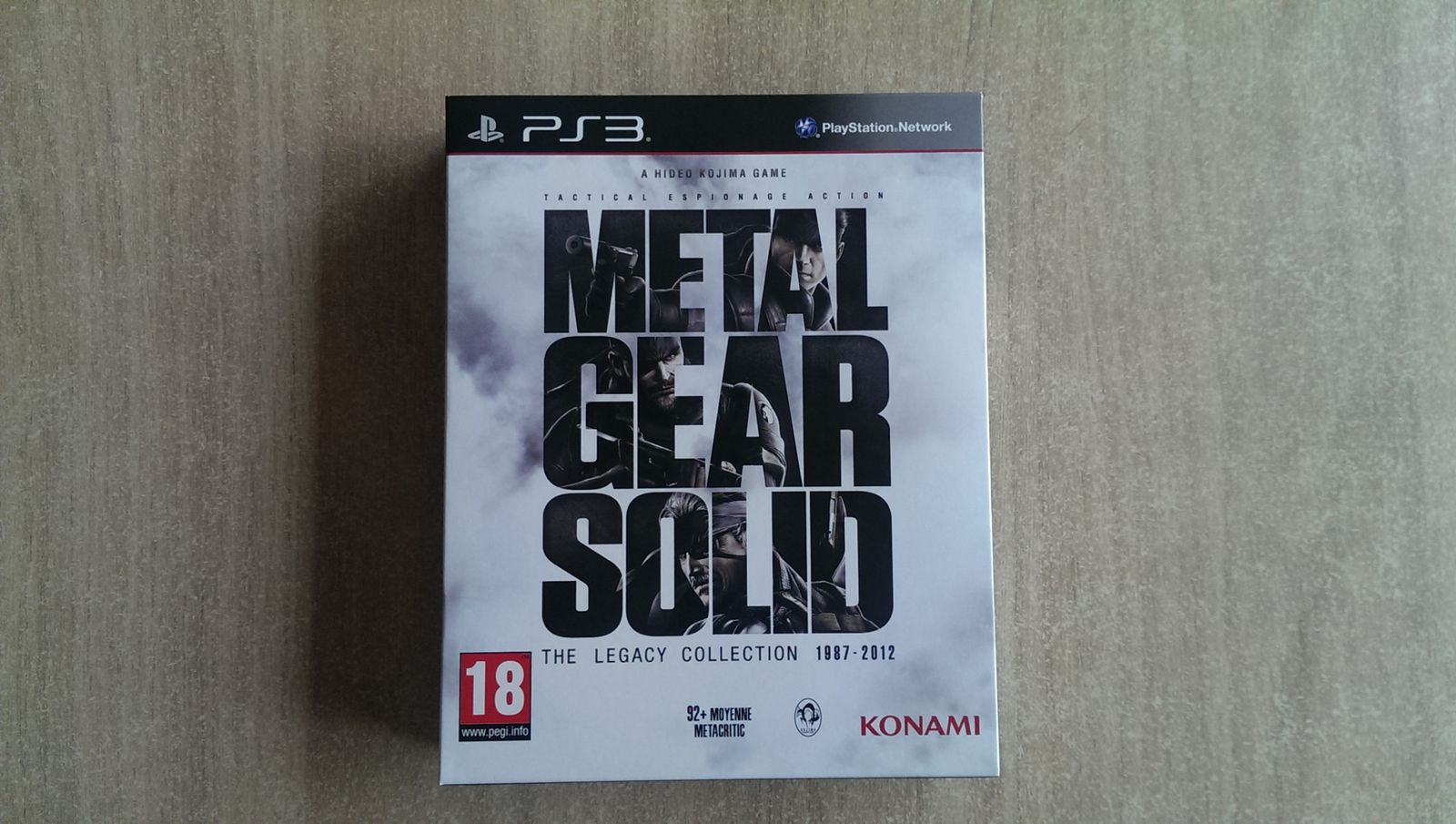 [ARRIVAGE] Metal Gear Solid: The Legacy Collection