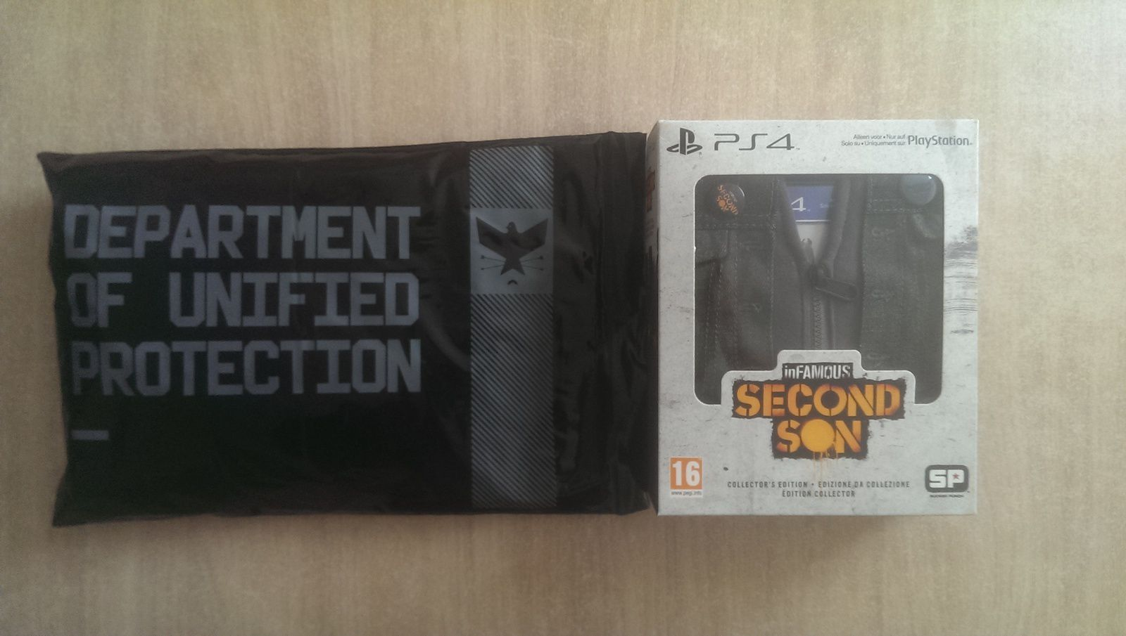 Infamous Second Son Collector VS Press kit