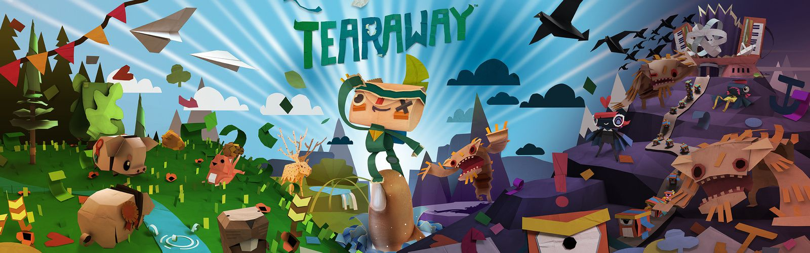 [GC2014] Tearaway arrive sur PS4