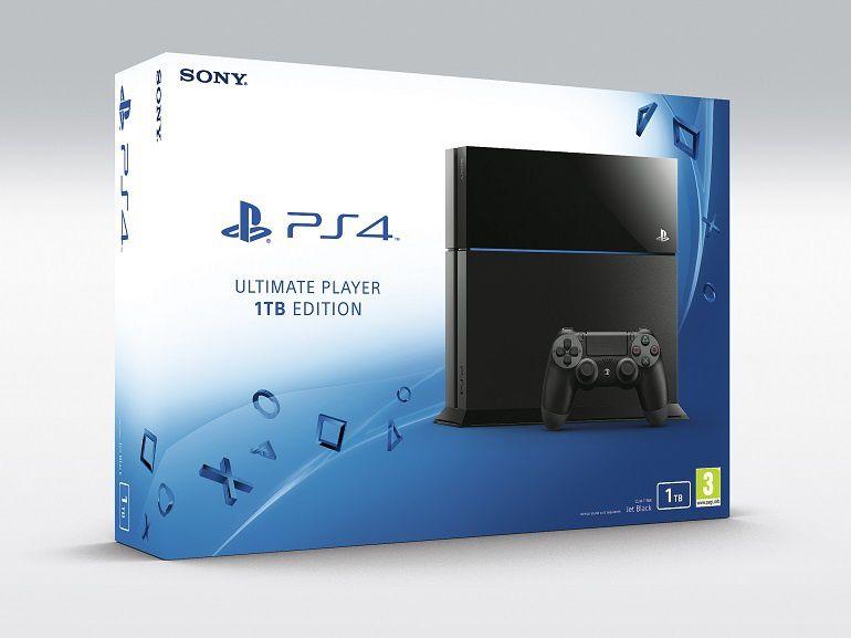 La PS4 1To annoncée officiellement