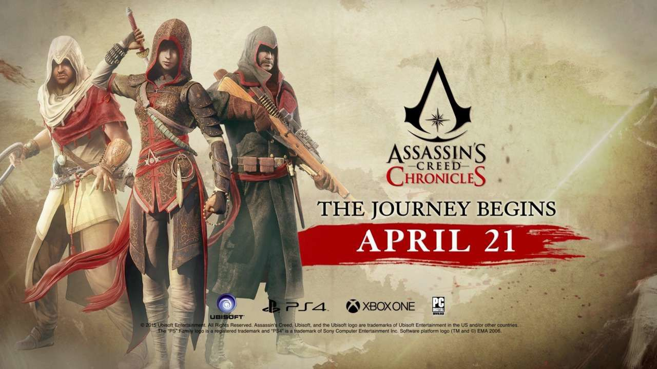 Assassin's Creed Chronicles débarques