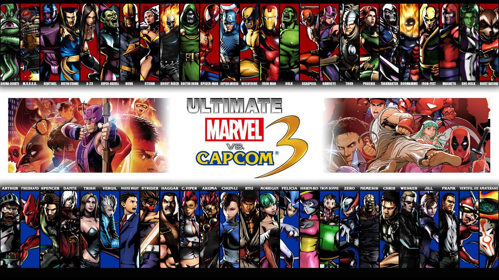 Ultimate Marvel vs Capcom 3 débarque sur PS4