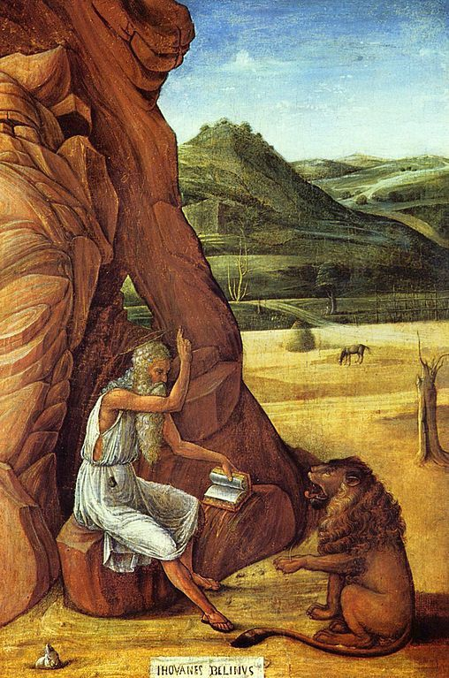 Saint Jérôme au désert, Giovanni Bellini, Barber Institute of Fine Arts, Birmingham