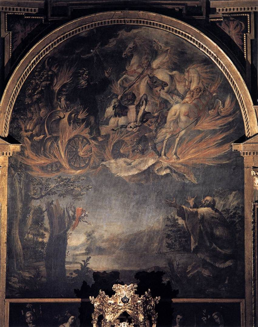 Ascension d'Élie, Juan de Valdes Leal