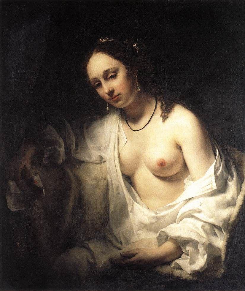 Bethsabée, Willem Drost, Musée du Louvre