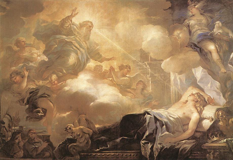 Le songe de Salomon, Luca Giordano, Museo del Prado, Madrid