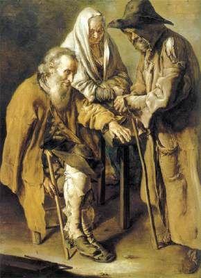 Trois mendiants, Giacomo Ceruti