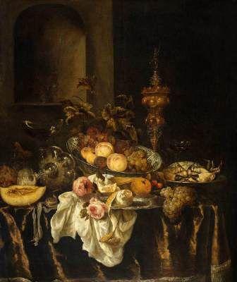 Nature morte, Abraham van Beyeren, Rijksmuseum, Amsterdam