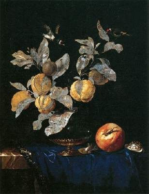 Nature morte avec fruits, Willem van Aelst