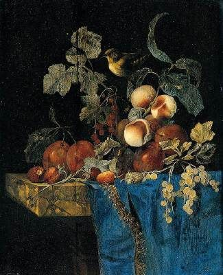 Nature morte, Willem van Aelst