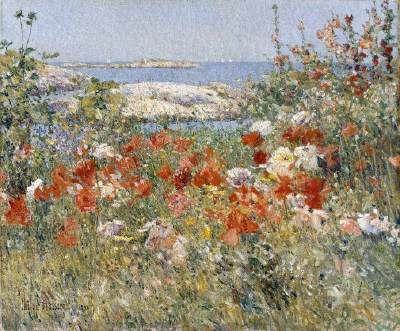 Celia Thaxter's Gardens, Childe Hassam