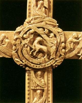 Cloisters Cross, England, 12th century.