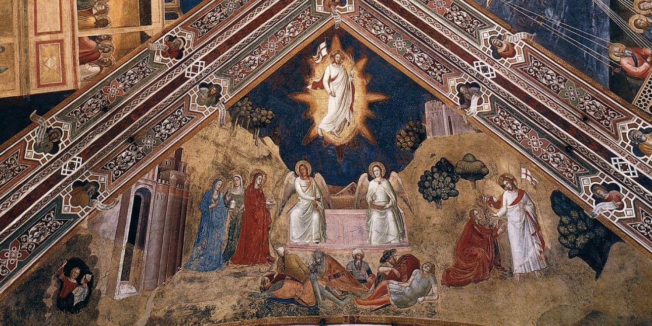 Résurrection, Andrea da Firenze, Santa Maria Novella, Florence