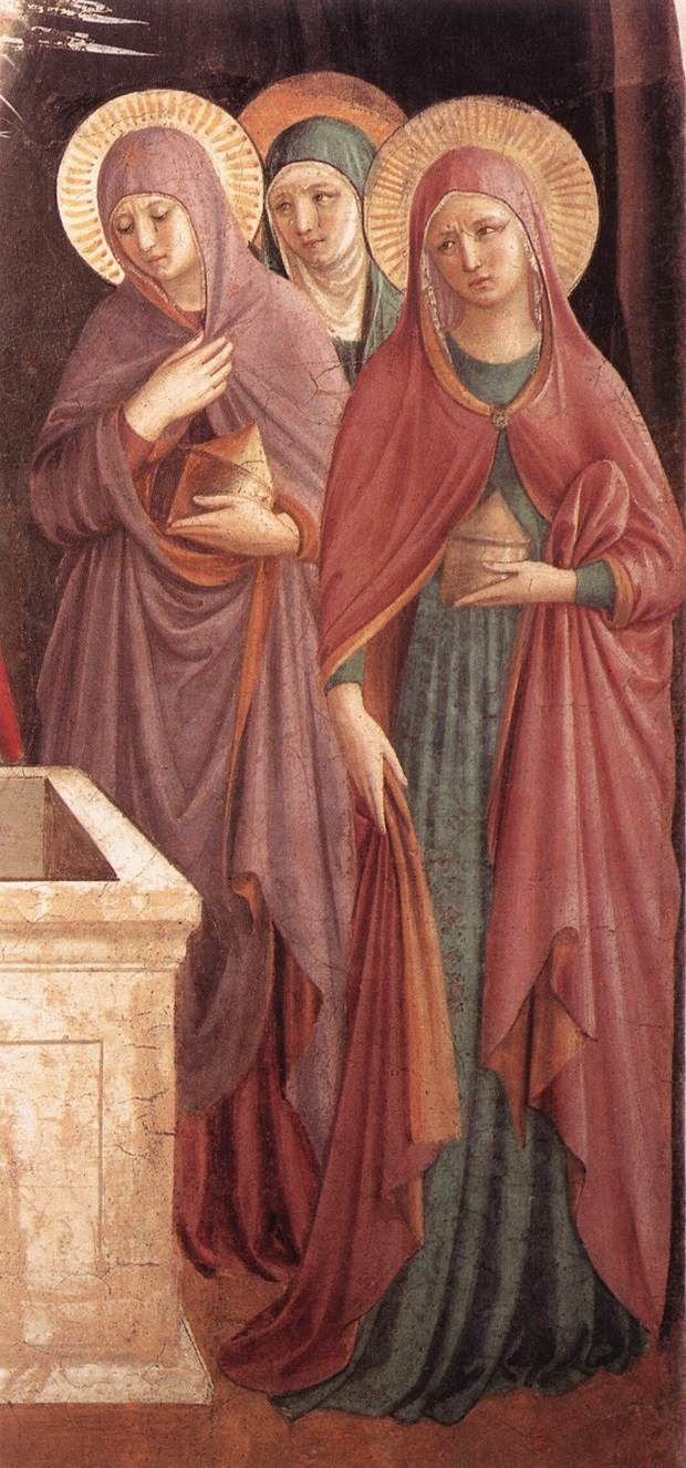 Les femmes au tombeau, Benozzo Gozzoli, Convento di San Marco, Florence