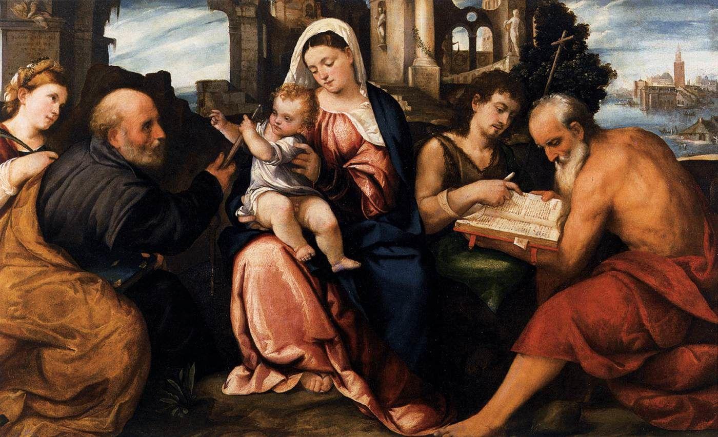 Vierge à l'Enfant, Bonifacio Veronese