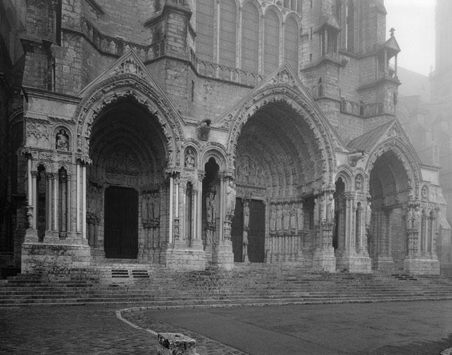 Cathédrale Notre-Dame de Chartres, le portail nord