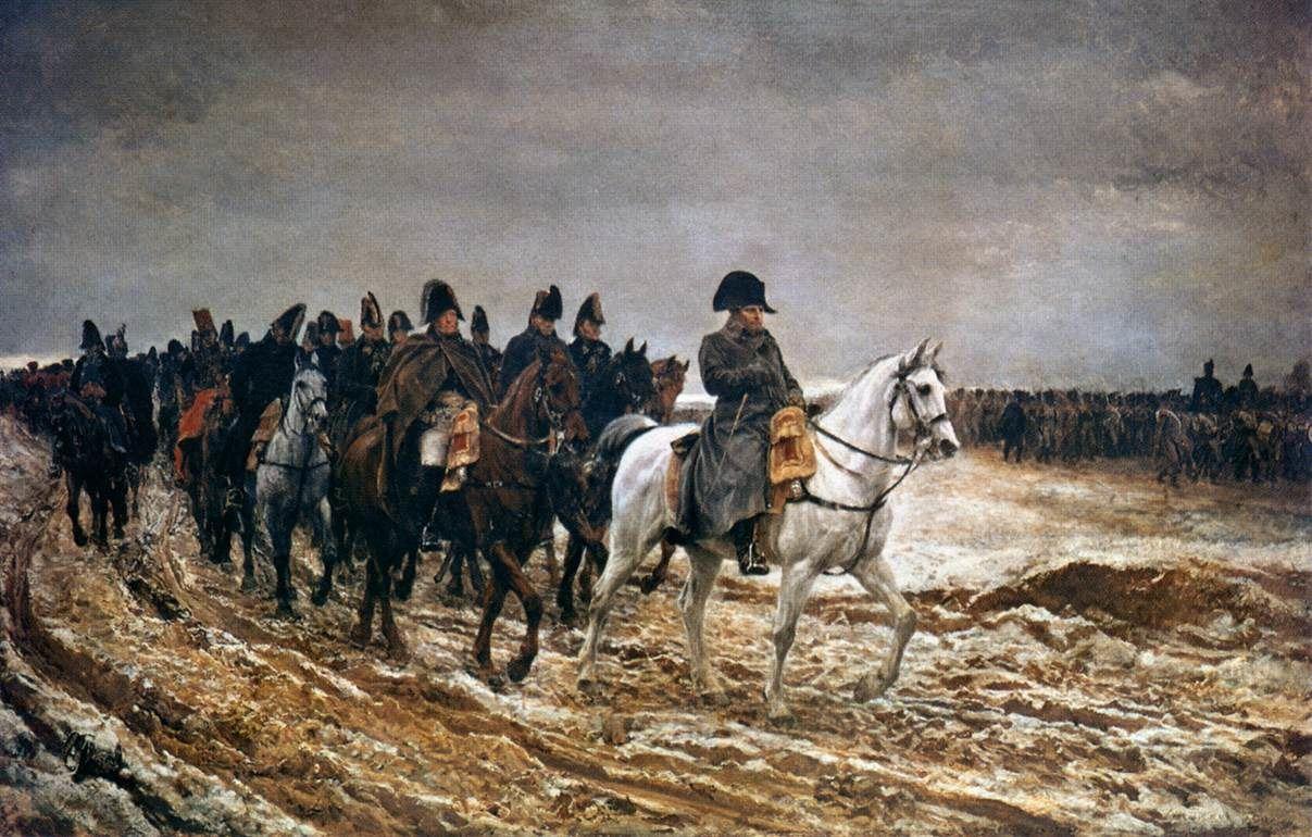 Campagne de France, 1814, Ernest Meissonier, Musée d'Orsay