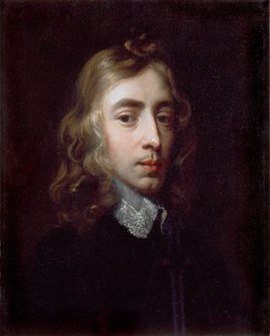 A Portrait of John Milton in the collection of Christ's College, Cambridge