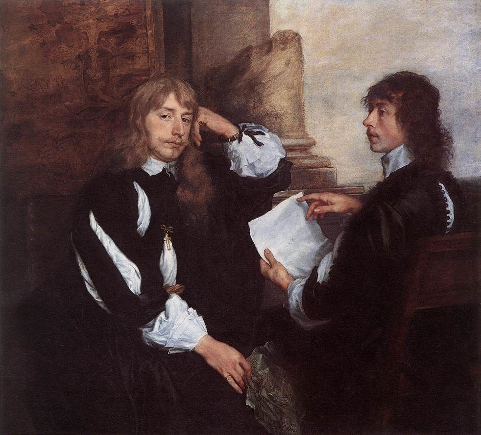 Thomas Killigrew and William, Lord Croft, van Dyck, Royal Collection, Windsor