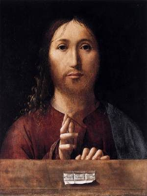 Salvator Mundi, Antonello da Messina